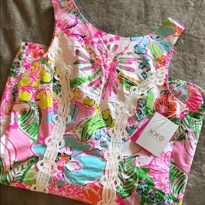 NWT Lilly Pulitzer for Target Nosey Posey dress